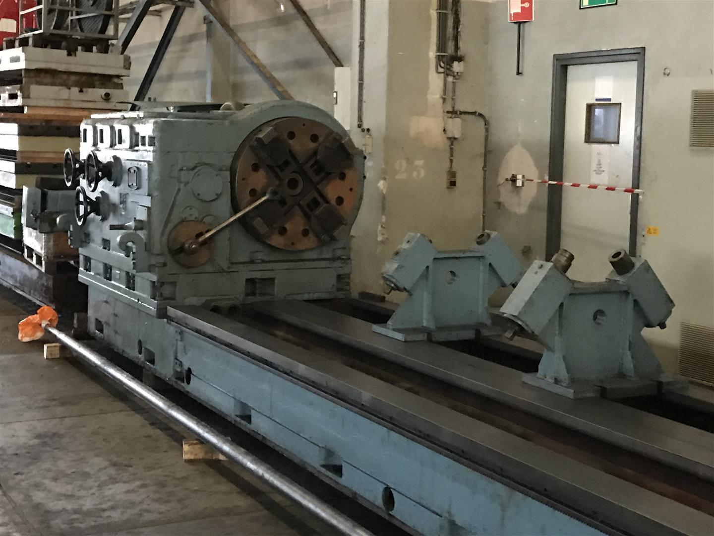 Roll lathe WMW-MEUSELWITZ DW 500 - L363
