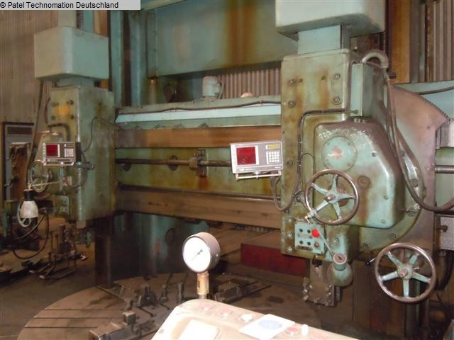 Vertical Turret Lathe - Double Column TOS/BLANSKO SK 25 1133-X177