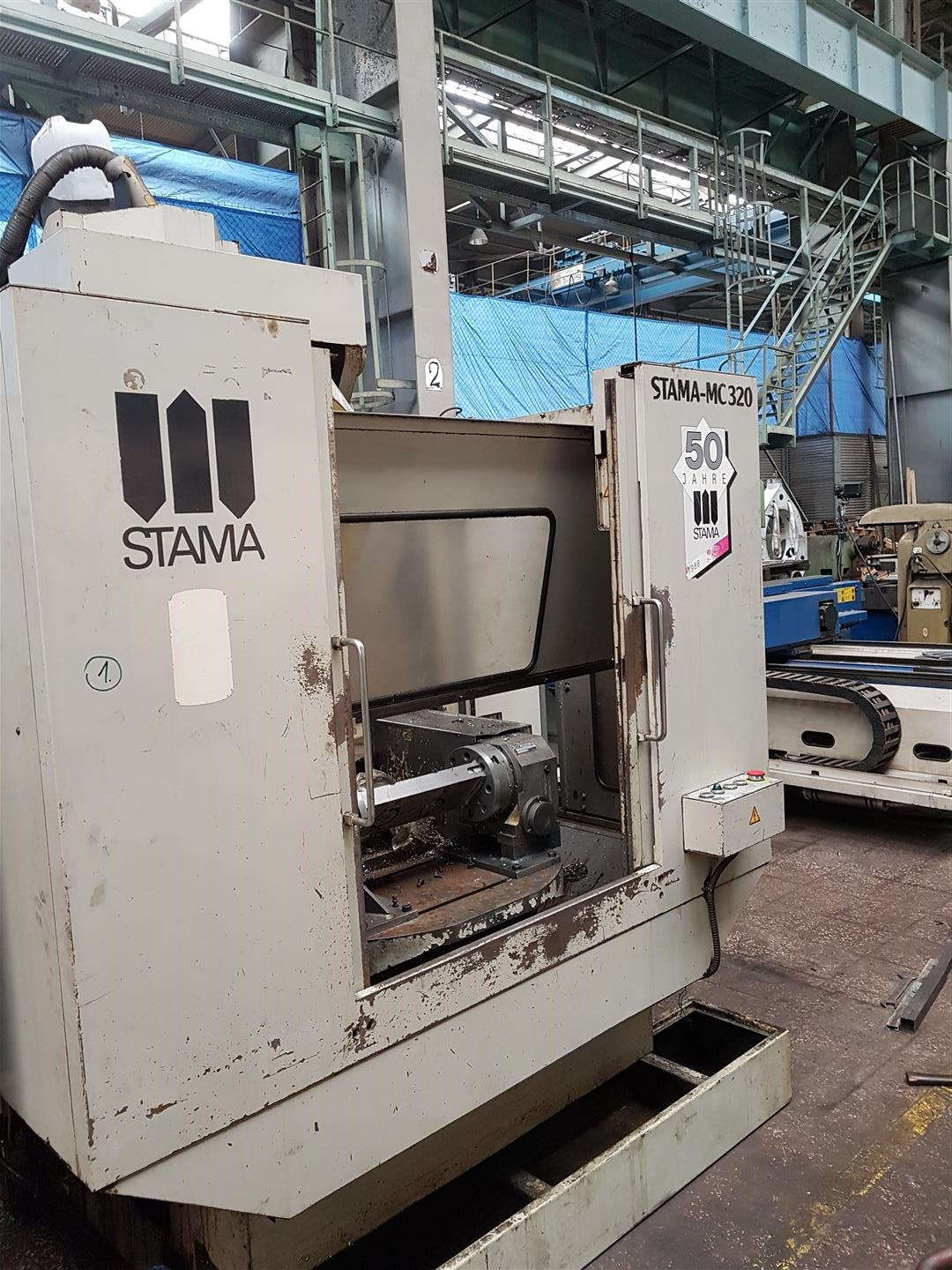 VMC Stama with Pallet changer + 4th axis