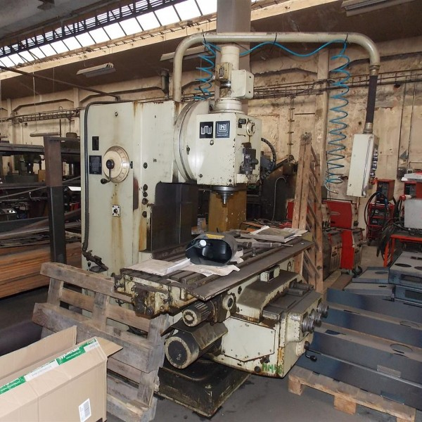 Vertical Milling Machine WMW FSS 400 E M135