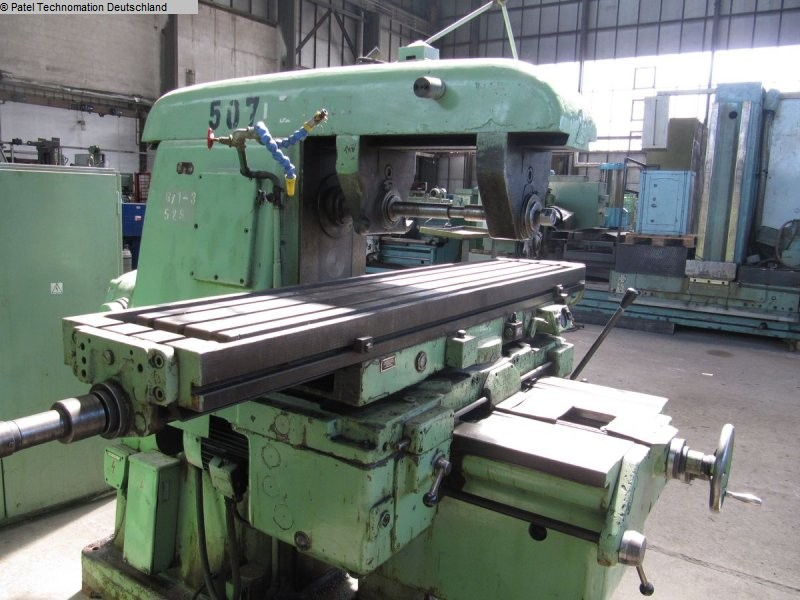Universal Milling Machine TOS FA 5 BH 1133-M136