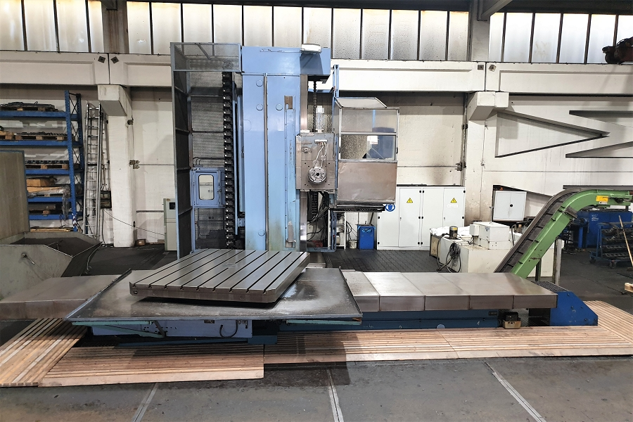 CNC Table Boring Wotan Rapid 3