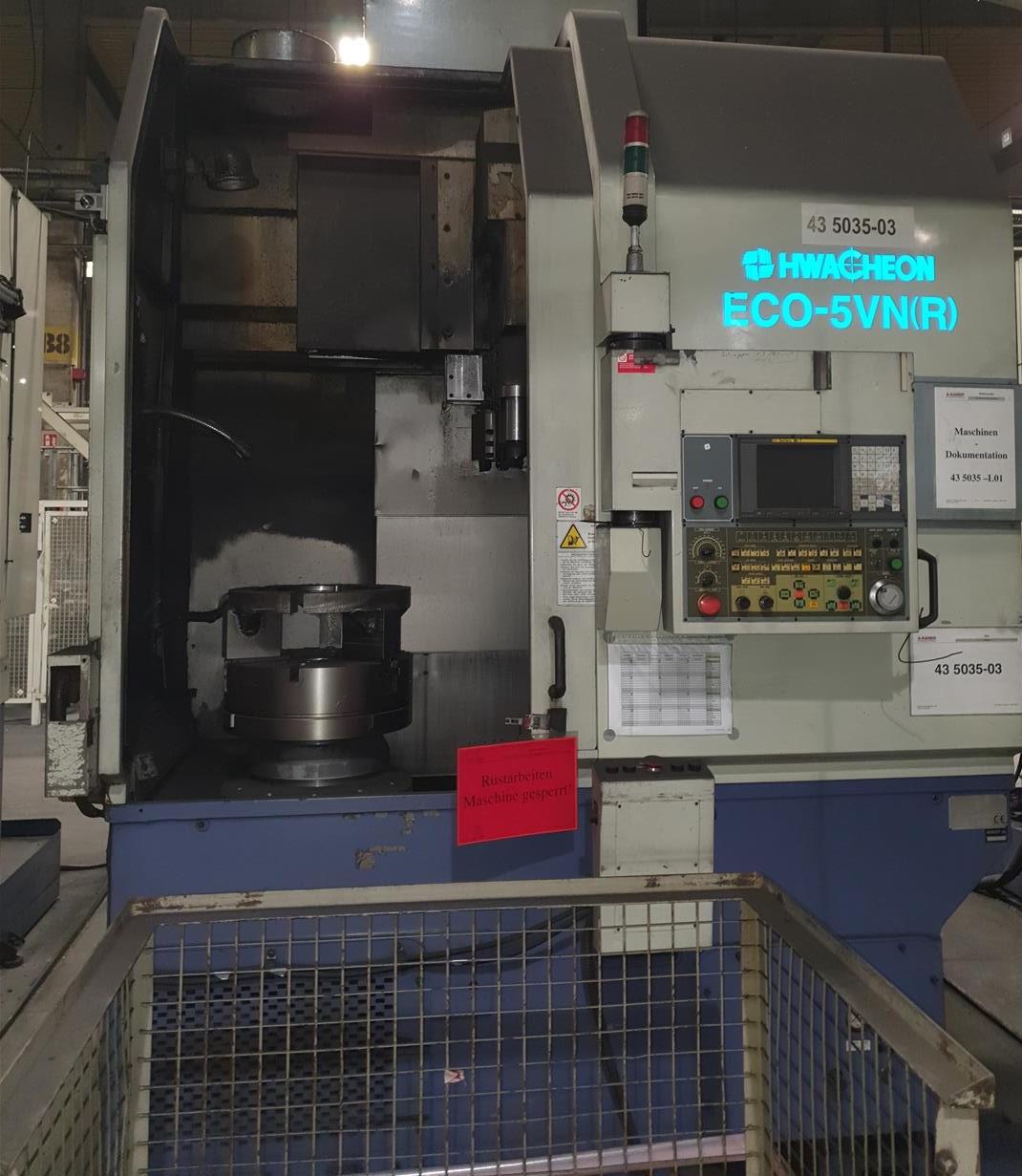 CNC VTL Hwacheon ECO 5 VN-R